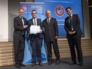 UEFA Futbol Hukuku Programının ilki sona erdi