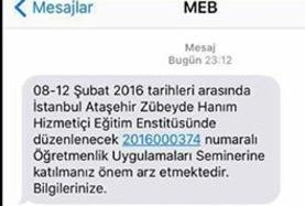 Öğretmenlere, okuluna dönme İstanbul'a gel çağrısı