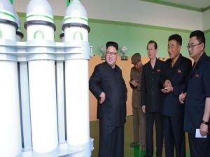 Kuzey Kore'de roket motoru denemesi