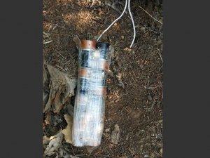 100 kiloluk patlayıcı Bingöl karayolunda imha edildi