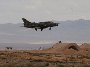Şam yakınlarında Suriye uçağı düştü