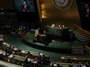 Erdoğan'ın açıklamasının ardından BM'den geri vites!