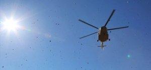 Moskova'da helikopter kazası! Ölüler var