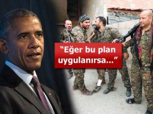 ABD Başkanı Obama'dan YPG'ye silah planı