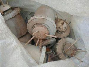Şemdinli'de 41 antipersönel mayını ele geçirildi