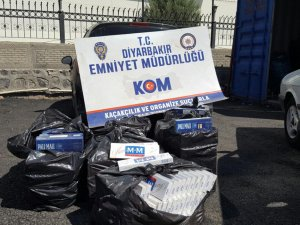 Diyarbakır'da kaçakçılara baskın