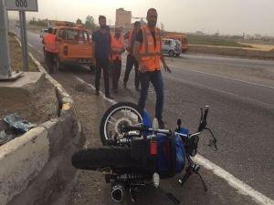 Batman'da Motosiklet kazası: 6 yaralı