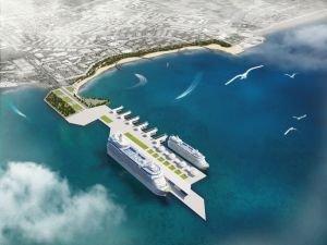 """Antalya'da """"Kruvaziyer Limanı"""" Proje çalışmalarına başlandı"""