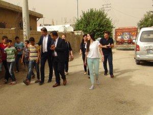 ASP İl Müdürü Nusaybin'de mağdur aileleri ziyaret etti