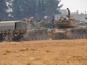 TSK: 105 IŞİD hedefi hedefi 416 atımla vuruldu
