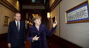 Merkel'den şaşırtan soru!