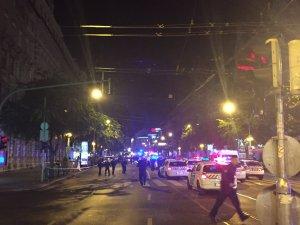 Budapeşte'de dev patlama: Yaralılar var