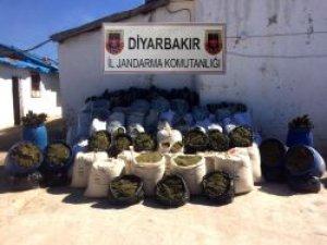 Diyarbakır'da büyük uyuşturucu operasyonu!