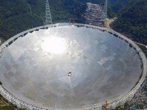 Çin radyo teleskobunu faaliyete geçirdi