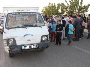 Adıyaman'da kamyonetiin çarptığı çocuk ağır yaralandı