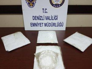 Denizli Emniyet'inden uyuşturucu operasyonu
