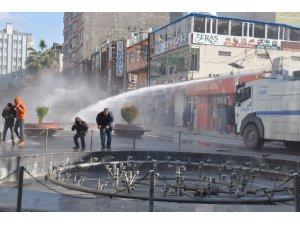 Mardin'de HDP yürüyüşünde gözaltı var