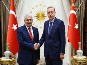 Cumhurbaşkanı Erdoğan Başbakan Yıldırım ile görüşecek!