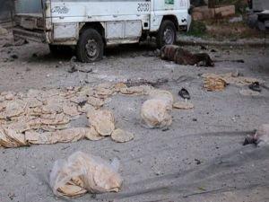Suriye'de rejim ekmek sırasını vurdu!