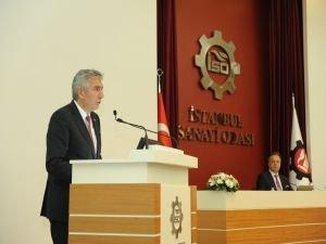 İSO Başkanı Bahçıvan, finans dünyasından üretim için destek istedi