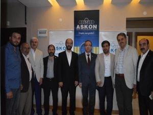 HÜDA PAR Diyarbakır İl Başkanlığı'ndan ASKON'a ziyaret