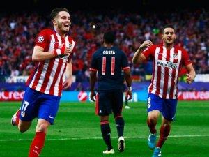 Atletico Madrid Bayern Münih'i avladı