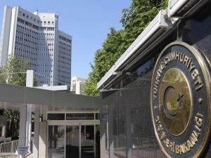Dışişleri'nden Irak'taki meclis kararına kınama