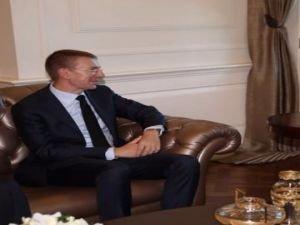 Başbakan Yıldırım, Letonya Dışişleri Bakanıyla görüştü