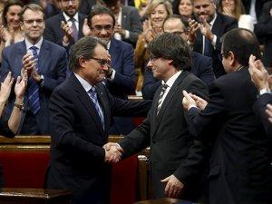 Katalonya Meclisi'nden bağımsızlığa destek