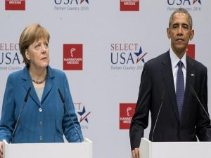 Obama ve Merkel'den kınama!