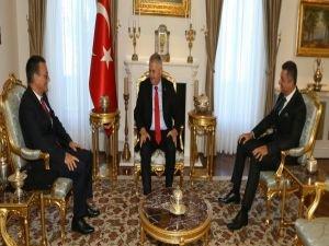 Başbakan Yıldırım, Çimento Birliği'ni kabul etti