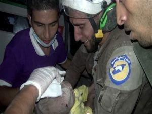 Suriye'de mucize kurtuluş