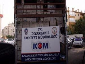 Diyarbakır'da dev tütün operasyonu