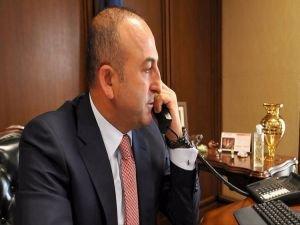 Çavuşoğlu'ndan Medeni'ye 'Suriye' telefonu