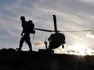 PKK'lı üs bölgesine saldırdı