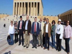 Anıtkabir'de kafeterya eylemine 11 kişi katıldı