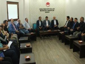 Bursa Valisi, İHL'lilerin sorunlarını dinledi