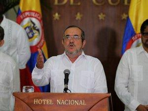 FARC lideri Rodrigo Londono, Hayır'ın yasal bağlayıcılığı yok