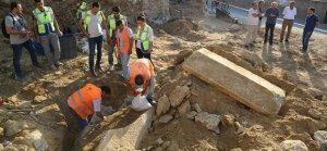 İnşaat kazısında tarihi mezar