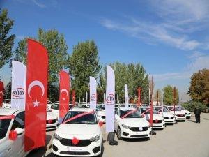 Ankara'yı Seviyorum Kampanyası'nın Araçları Teslim Edildi