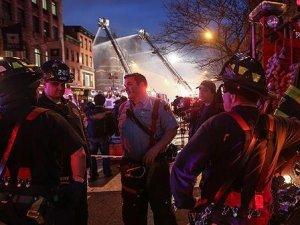 New York'ta doğalgaz patlaması sonucu 5 kişi yaralandı