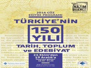 Türkiye'nin 150 Yılı: Tarih, Toplum ve Edebiyat
