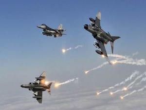 İhbar geldi, F-16'lar havalandı, Hepsi imha edildi