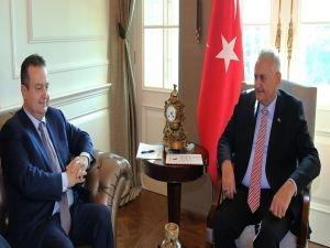Başbakan Yıldırım, Sırbistan Başbakan Yardımcısını kabul etti