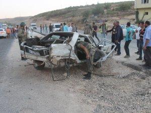 Mardin'de meydana gelen trafik kazasında 3'ü ağır 5 yaralı