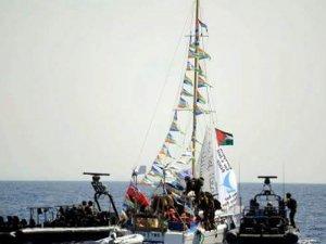 Gazze'ye giden gemiye müdahalei eden İsrail'den açıklama