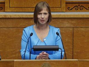 Estonya'nın kadın cumhurbaşkanı sabıkalı çıktı