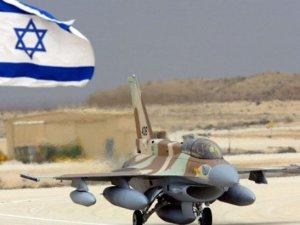 Gazze'ye hava saldırısı düzenleyen İsrail'e ait F-16 düştü