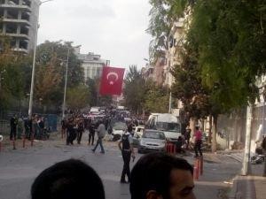Vali Şahin:Saldırıda bombalı motosiklet kullanıldı