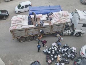 Mardin'de 788 bin paket kaçak sigara ele geçirdi
